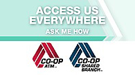 CO-OP ATM/Shared Branch